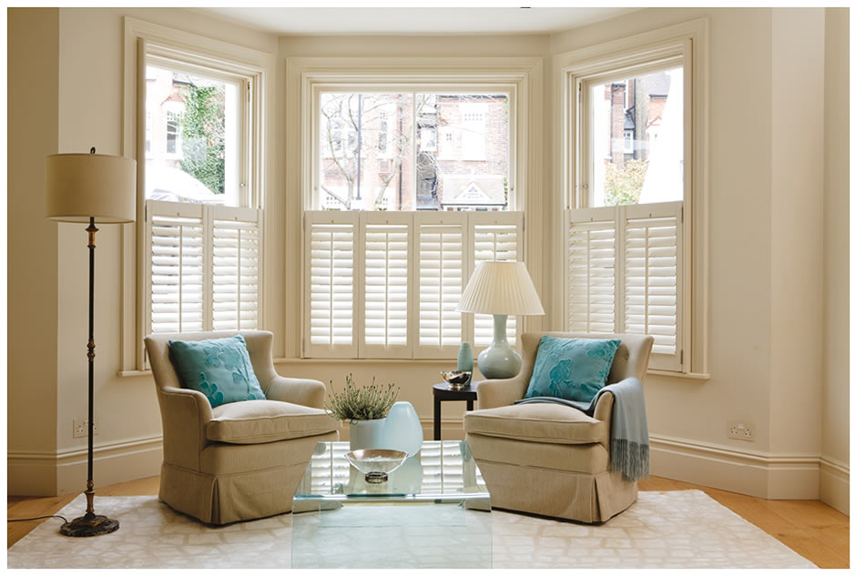 Shutters Bay Window